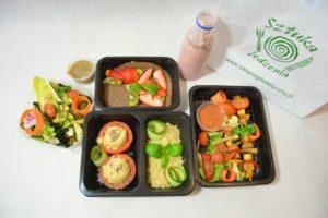 Przykładowe menu diety wegetariańskiej